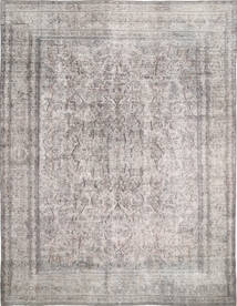 Colored Vintage Rug 285X374 Authentic  Modern Handknotted Light Grey Large (Wool, Persia/Iran)