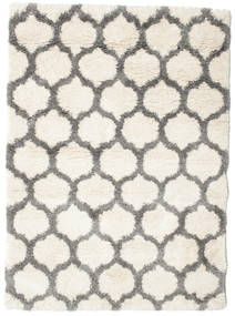 Berber Shaggy Illusia - Off White/Grey Rug 140X200 Modern Beige/Light Grey ( Turkey)