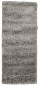 Shaggy Sadeh - Grey Rug 80X200 Modern Hallway Runner  Light Grey/Dark Grey ( Turkey)