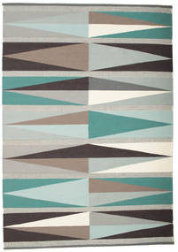 Terence Rug 160X230 Authentic  Modern Handwoven Light Grey/Beige (Wool, India)