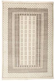 Sandor Rug 140X200 Authentic  Modern Handknotted Light Grey/Beige (Wool, India)