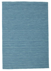 Kilim Loom - Blue Rug 120X180 Authentic  Modern Handwoven Turquoise Blue/Blue (Wool, India)
