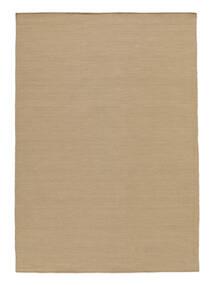 Kilim Loom - Beige Rug 140X200 Authentic  Modern Handwoven Beige/Brown (Wool, India)