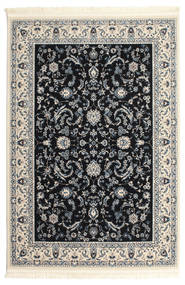 Nain Florentine - Dark Blue Rug 160X230 Oriental Light Grey/Beige/Black ( Turkey)