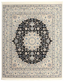 Nain Emilia - Dark Blue Rug 200X250 Oriental Light Grey/Beige ( Turkey)