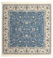 Nain Florentine - Light Blue Rug 250X250 Oriental Square Blue/Light Grey/Beige Large ( Turkey)