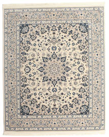 Nain Emilia - Beige/Blue Rug 250X300 Oriental Light Grey/Beige Large ( Turkey)