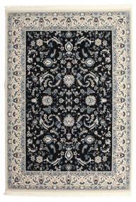 Nain Florentine - Dark Blue Rug 250X350 Oriental Black/Light Grey Large ( Turkey)