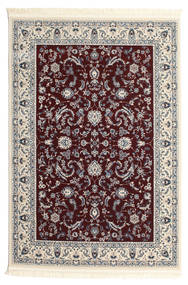 Nain Florentine - Dark Red Rug 120X180 Oriental Beige/Light Grey/Dark Brown ( Turkey)