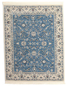 Nain Florentine - Light Blue Rug 200X250 Oriental Light Grey/Blue ( Turkey)