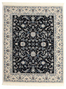 Nain Florentine - Dark Blue Rug 200X250 Oriental Light Grey/Dark Grey ( Turkey)