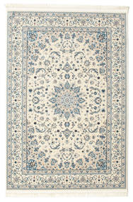 Nain Emilia - Cream/Light Blue Rug 120X180 Oriental Light Grey/Beige ( Turkey)