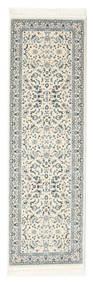 Nain Florentine - Cream Rug 80X300 Oriental Hallway Runner  Light Grey/Beige ( Turkey)