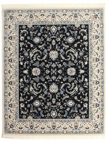 Nain Florentine - Dark Blue Rug 250X300 Oriental Light Grey/Black Large ( Turkey)
