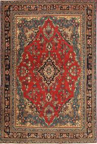 Hamadan Patina Rug 210X312 Authentic Oriental Handknotted Dark Grey/Dark Brown (Wool, Persia/Iran)