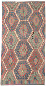 Kilim Semi Antique Turkish Rug 169X318 Authentic  Oriental Handwoven Dark Red/Pink (Wool, Turkey)