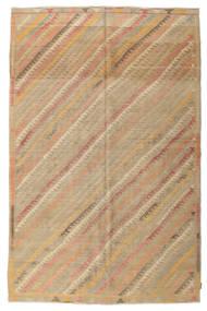 Kilim Semi Antique Turkish Rug 200X302 Authentic  Oriental Handwoven (Wool, Turkey)