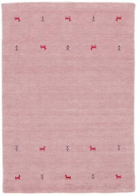 Gabbeh Loom Two Lines - Pink Rug 140X200 Modern Light Pink (Wool, India)