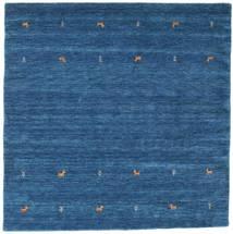 Gabbeh Loom Two Lines - Blue Rug 200X200 Modern Square Dark Blue/Blue (Wool, India)