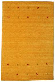 Gabbeh Loom Two Lines - Yellow Rug 190X290 Modern Yellow/Light Brown (Wool, India)