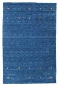 Gabbeh Loom Two Lines - Blue Rug 190X290 Modern Dark Blue/Blue (Wool, India)
