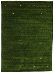Gabbeh Loom Two Lines - Green Rug 240X340 Modern Dark Green (Wool, India)