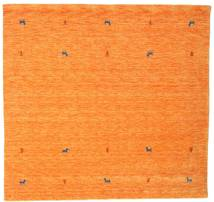 Gabbeh Loom Two Lines - Orange Rug 200X200 Modern Square Orange (Wool, India)