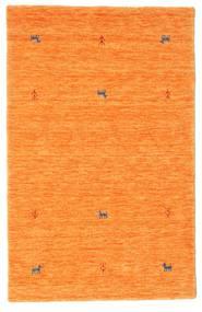 Gabbeh Loom Two Lines - Orange Rug 100X160 Modern Orange (Wool, India)