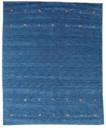 Gabbeh Loom Two Lines - Blue Rug 240X290 Modern Dark Blue/Blue (Wool, India)