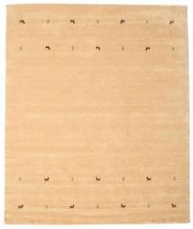 Gabbeh Loom Two Lines - Beige Rug 240X290 Modern Light Brown/Yellow (Wool, India)