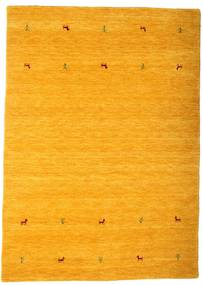 Gabbeh Loom Two Lines - Yellow Rug 160X230 Modern Orange/Light Brown (Wool, India)