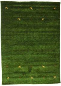 Gabbeh Loom Two Lines - Green Rug 160X230 Modern Dark Green (Wool, India)