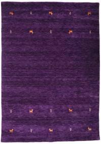 Gabbeh Loom Two Lines - Purple Rug 160X230 Modern Dark Purple (Wool, India)