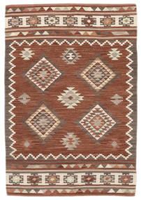 Kilim Malatya Rug 120X180 Authentic  Modern Handwoven Dark Red/Light Brown (Wool, India)