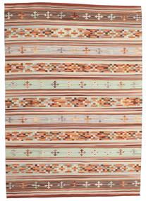 Kilim Anatolian Rug 160X230 Authentic Modern Handwoven Dark Red/Light Grey (Wool, India)