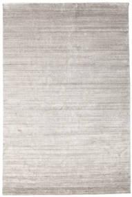 Bamboo Silk Loom - Warm Grey Rug 200X300 Modern Light Grey ( India)