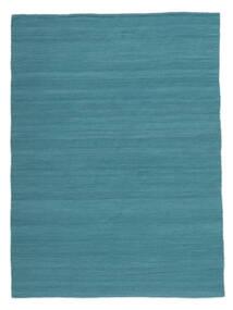 Kilim Loom - Petrol Blue Rug 160X230 Authentic  Modern Handwoven Blue/Turquoise Blue (Wool, India)