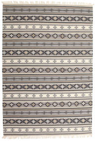 Kilim Cizre Rug 190X290 Authentic  Modern Handwoven Light Grey/Brown (Wool, India)