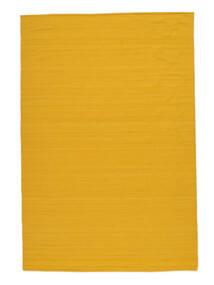 Kilim Loom - Yellow Rug 200X300 Authentic  Modern Handwoven Orange (Wool, India)