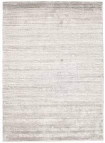 Bamboo Silk Loom - Warm Grey Rug 140X200 Modern Light Grey ( India)