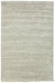 Handloom Fringes - Grey/Light Green Rug 120X180 Modern Light Grey/Light Brown (Wool, India)