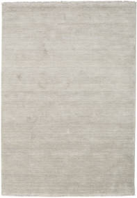 Handloom Fringes - Greige Rug 140X200 Modern Light Grey (Wool, India)