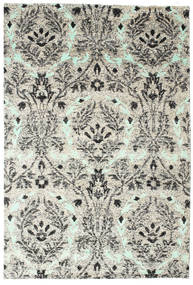 Lennox Rug 190X290 Authentic  Modern Handknotted Light Grey/White/Creme (Silk, India)