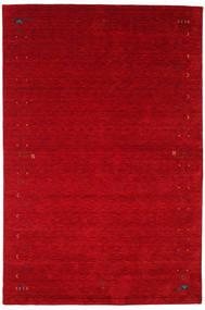Gabbeh Loom Frame - Red Rug 190X290 Modern Crimson Red/Dark Red (Wool, India)