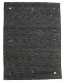 Gabbeh Loom Frame - Dark Grey/Green Rug 140X200 Modern Dark Green/Dark Green (Wool, India)