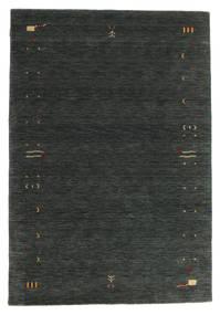 Gabbeh Loom Frame - Dark Grey/Green Rug 160X230 Modern Dark Green (Wool, India)