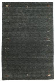Gabbeh Loom Frame - Dark Grey/Green Rug 190X290 Modern Dark Green (Wool, India)