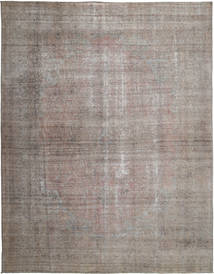 Colored Vintage Rug 290X376 Authentic  Modern Handknotted Light Grey/Dark Grey Large (Wool, Persia/Iran)