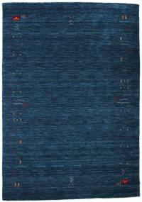 Gabbeh Loom Frame - Dark Blue Rug 140X200 Modern Dark Blue (Wool, India)