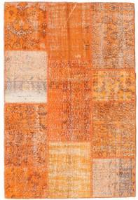 Patchwork Rug 121X180 Authentic  Modern Handknotted Orange/Light Brown (Wool, Turkey)